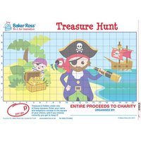 General Game Posters (Pirate Treasure Hunt) - Toys Gifts