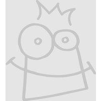 Santa & Reindeer Porcelain Plates (Box of 10) - Reindeer Gifts