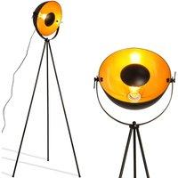 Lámpara de pie vintage con trípode