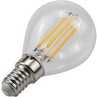 Bombilla LED de filamento E14 G45 4W 350lm 3000K