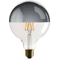 Bombilla LED Globo de filamento E27 G125 6W con espejo