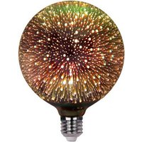 Bombilla LED Globo E27 G125 6W BIG BANG 3D