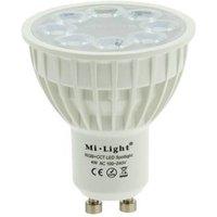 Bombilla LED GU10 4W RGBW+CCT control por RF 240lm