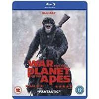'War For The Planet Of The Apes [blu-ray] [2017]