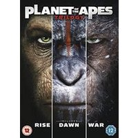 'Planet Of The Apes Triple [dvd] [2017]