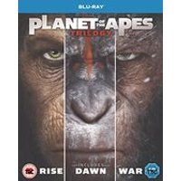 'Planet Of The Apes Triple  [2017] (blu-ray)