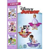 Disney Junior Collection 3DVD Box set (Doc Mcstuffins, MMCH - I heart Minnie, Sofia The First)