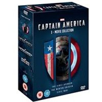 Captain America - 1-3 Movie Boxset