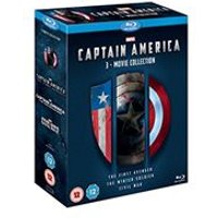 Captain America - 1-3 Movie Boxset  (Blu-ray)