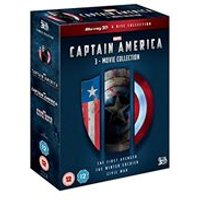 Captain America - 1-3 Movie Boxset (3D Blu-ray)