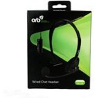 'Orb Wired Headset Black (xbox 360)