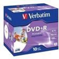 DataLifePlus - DVD+R x 10 - 4.7 Go - support de stockage (43508)
