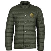 Barbour Beacon Sergeant Olive Green Down Jacket