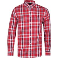 Tommy Hilfiger Regular Fit Midscale Check Red Shirt
