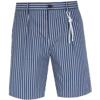 Boss Pepe Striped Navy Shorts