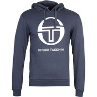 Sergio Tacchini Navy Zion Pullover Hoodie
