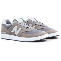 New Balance All Coasts 574 Grey with Light Grey Suede Trainers