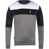 Luke 1977 Loki Colour Block Grey Sweatshirt