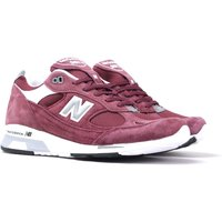 New Balance M991.5 Made in England Bordeaux Suede Trainers