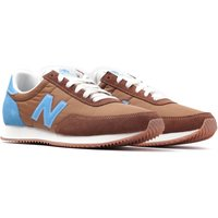 New Balance UL720 Brown & Ocean Blue Suede Trainers