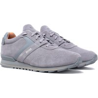BOSS Parkour Runn Grey Suede Trainers