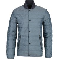 Barbour International Redwell Quilted Grey Bomber Jacket