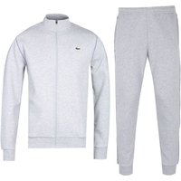 Lacoste Funnel Neck Grey Marl Tracksuit