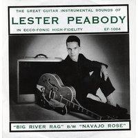Lester Peabody - Big River Rag - Navajo Rose (7inch, 45rpm, PS)