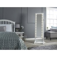 Amore Jewellery Storage Mirror with LEDS