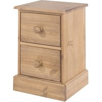 Cotswold 2 Drawer Petite Bedside Cabinet