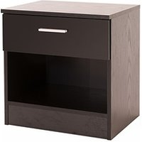 Ottawa 1 Drawer Bedside Table