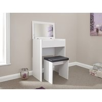 Compact Dresser and Stool