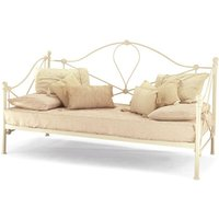 Serene lyon 3ft single metal day bed (optional trundle bed)