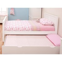 Stompa classic kids white bed