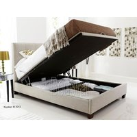 Kaydian design walkworth 6ft superking ottoman bed,oatmeal