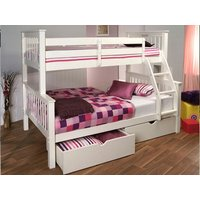 image-Limelight Pavo White Three Sleeper Bunk Bed
