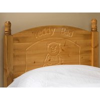 Friendship Mill Teddy Wooden Headboard