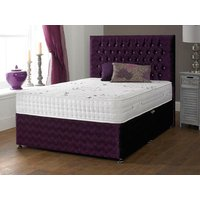 Shire Beds ACTIVE Ametist 2000 Pocket Memory 4FT 6 Double Divan Bed