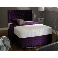 Shire Beds ACTIVE Memory 2000 3FT Single Divan Bed