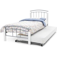Serene tetras 3-in-1 metal guest bed,white