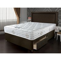 Sleepeezee bordeaux 2000 4ft 6 double divan bed