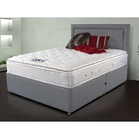 Sleepeezee memory comfort 1000 4ft 6 double divan bed
