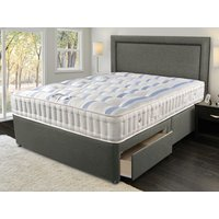 Sleepeezee naturelle 1200 4ft 6 double divan bed