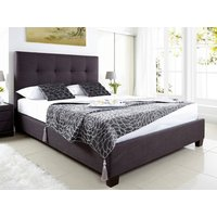 Kaydian design walkworth 5ft kingsize ottoman bed,slate