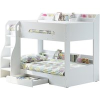 Flair Flick Wooden Bunk Bed,White