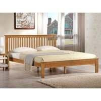 Harmony beds windsor 4ft 6 double wooden bed