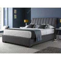 Kaydian design lanchester ottoman bed,grey