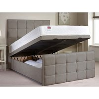 Aspire Furniture Aston 4FT 6 Double Fabric Ottoman Bed