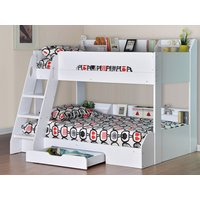 Flair Flick Triple Sleeper Bunk Bed,White
