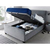 Kaydian design allendale 5ft kingsize ottoman bed,velvet plume